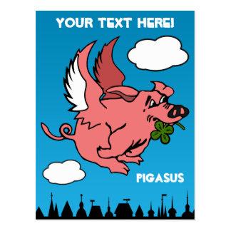 Pigasus Postcard