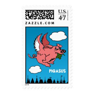 Pigasus Sello Postal