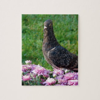 Pigeon and Mums Jigsaw Puzzle