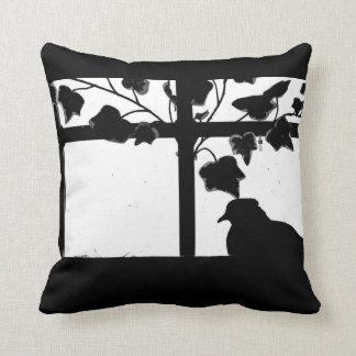 Pigeon at Rest Throw Pillow