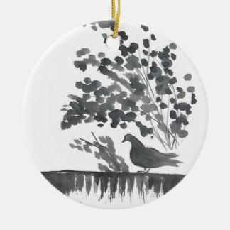 Pigeon Bird Art Ornament
