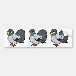 Pigeon Design Bumper Sticker