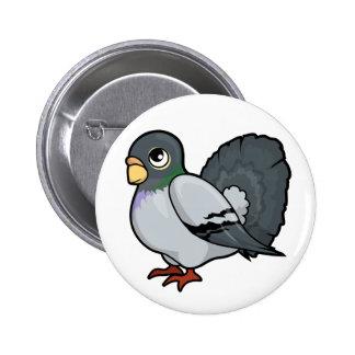 Pigeon Design Pinback Button