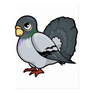 Pigeon Design Postcard
