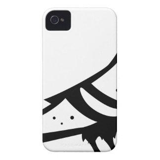 Pigeon Dove Black n White iPhone 4 Case-Mate Case