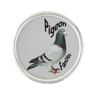 Pigeon Fancier Lap Pin Lapel Pin