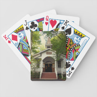 Pigeon Forge Chapel Bicycle Playing Cards