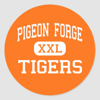 Pigeon Forge - Tigers - High - Pigeon Forge Sticker