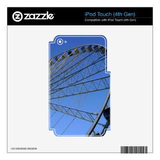 Pigeon Forge Wheel iPod Touch 4G Decals