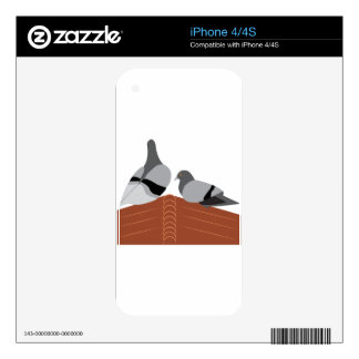 Pigeon House Skins For iPhone 4