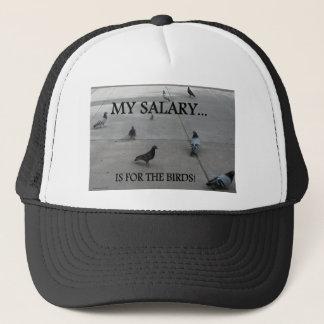 PIGEON HUMOR TRUCKER HAT