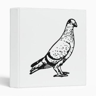 Pigeon Illustration Binders