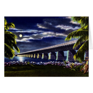 Pigeon Key Florida Overseas Highway Greeting Card