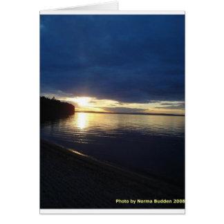 Pigeon Lake Notecards Greeting Card