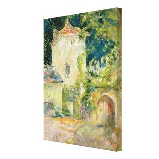 Pigeon Loft at the Chateau du Mesnil, Juziers Canvas Print