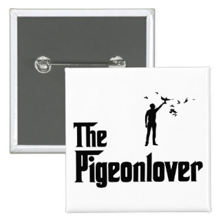 Pigeon Lover Pinback Button