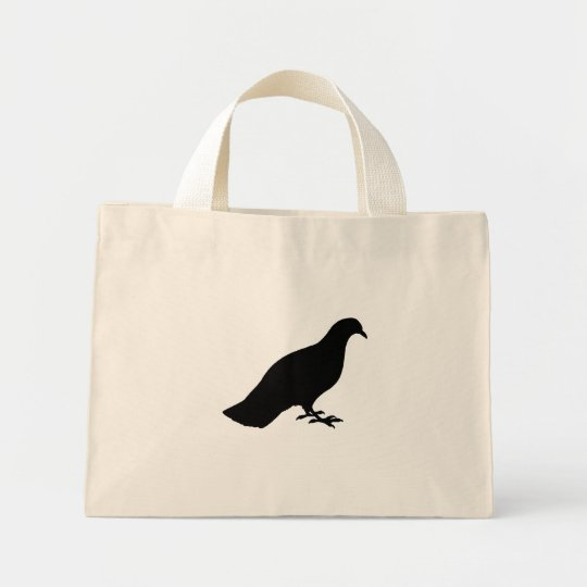 Pigeon Mini Tote Bag