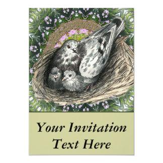 Pigeon Nest Card