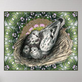 Pigeon Nest Poster