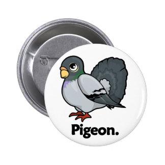 Pigeon Pigeon. Button