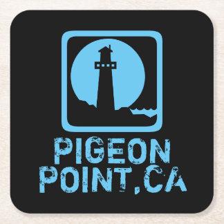 Pigeon Point California Square Paper Coaster