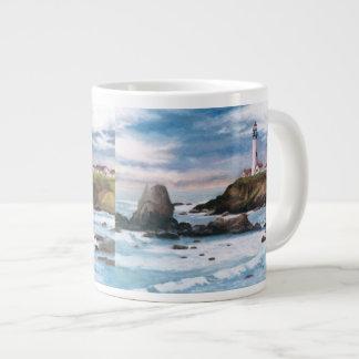 Pigeon Point Lighthouse 20 Oz Large Ceramic Coffee Mug