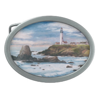 Pigeon Point Lighthouse Belt Buckle