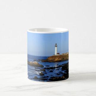 Pigeon Point Lighthouse Classic White Coffee Mug