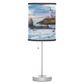 Pigeon Point Lighthouse Table Lamp