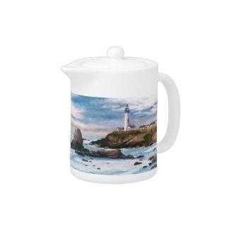 Pigeon Point Lighthouse Teapot