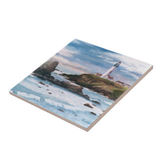 Pigeon Point Lighthouse Tile