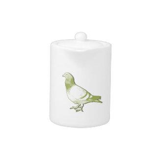 Pigeon porcelain teapot