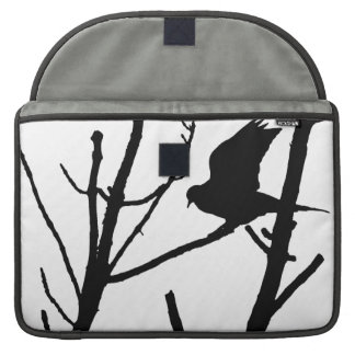 Pigeon Silhouette Mac Cover Sleeves For MacBook Pro