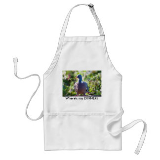 Pigeon, Where's my DINNER? Adult Apron