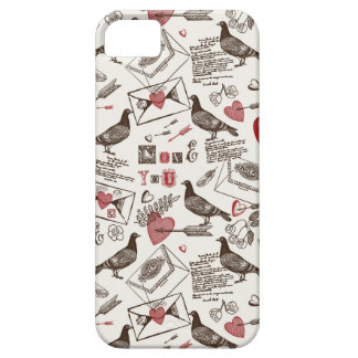 Pigeons and Hearts iPhone SE/5/5s Case