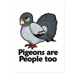 Pigeons are People too Postcard