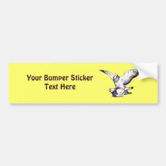 Pigeons Mating Bumper Sticker