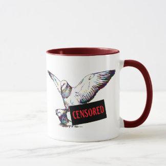 Pigeons Mating:  Censored! Mug