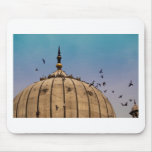 Pigeons on a dome mouse pad