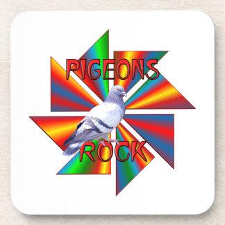 Pigeons Rock Drink Coasters