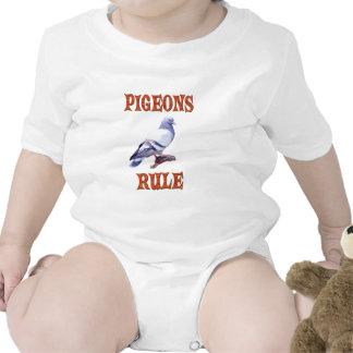 Pigeons Rule Baby Bodysuits