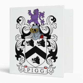 Pigg Family Crest Binders