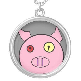 piggieeeee custom necklace