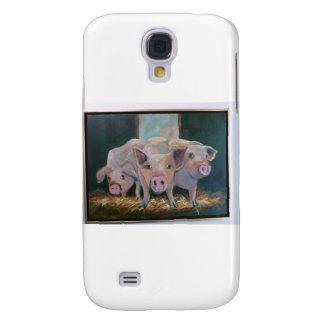 Piggies Funda Para Galaxy S4