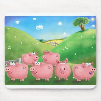 Piggies Mouse Pad
