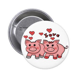 piggies pinback button