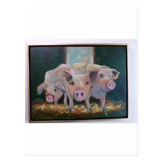 Piggies Postales