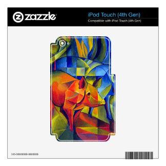 piggies iPod touch 4G decals