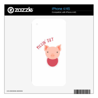 Piggin Out Skins For The iPhone 4
