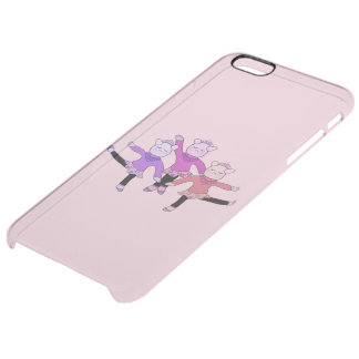 Piggly Ballerina Uncommon Clearly™ Deflector iPhone 6 Plus Case